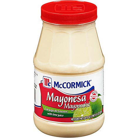 McCormick Mayonnaise with Lime Juice - 28 Fl. Oz.