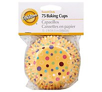 Wilton Baking Cups Sweet Dots - 75 Count