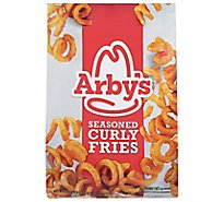 Arbys Fries Curly Seasoned - 22 Oz