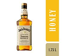 Jack Daniels Whiskey Tennessee Honey Flavored 70 Proof - 1.75 Liter