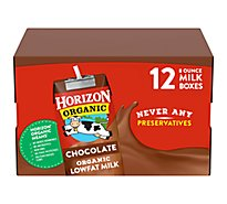Horizon Organic Milk Lowfat Chocolate - 12-8 Fl. Oz.