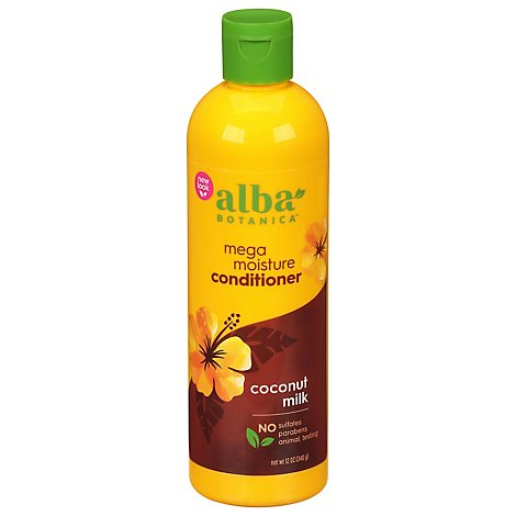 Alba Botanica Hawaiian Conditioner Drink It Up Coconut Milk - 12 Fl. Oz.