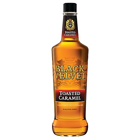 Black Velvet Canadian Whisky Toasted Caramel Bottle 70 Proof - 750 Ml
