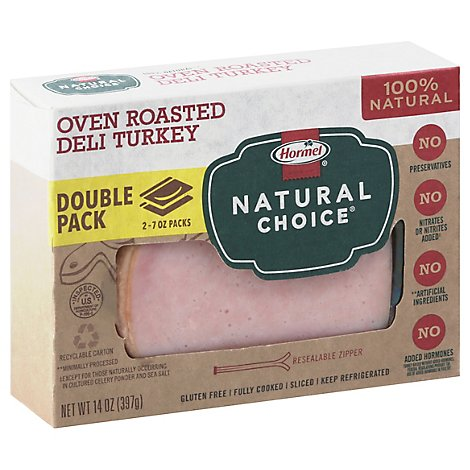 Hormel Natural Choice Oven Roasted Turkey Family Pack - 14 Oz