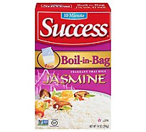 Success Boil-in-Bag Rice Jasmine Thai Hom Mali 4 Count - 14 Oz