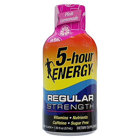 5-hour ENERGY Energy Shot Pink Lemonade - 1.93 Fl. Oz.