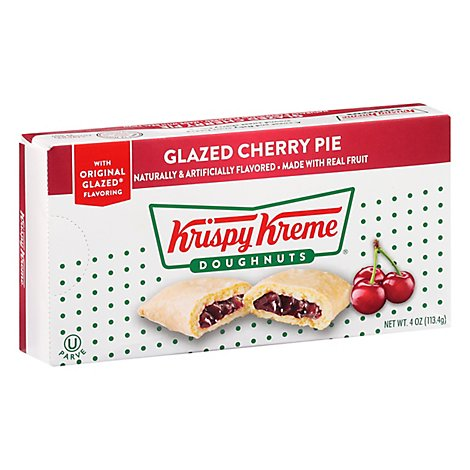 Krispy Kreme Pie Cherry Glazed - 4.5 Oz