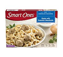 weightwatchers Smart Ones Tasty American Favorites Pasta with Swedish Meatballs - 9.12 Oz