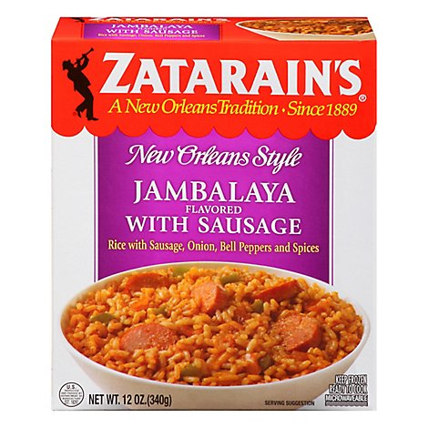 Zatarains New Orleans Style Jambalaya Flavoured With Sausage - 12 Oz