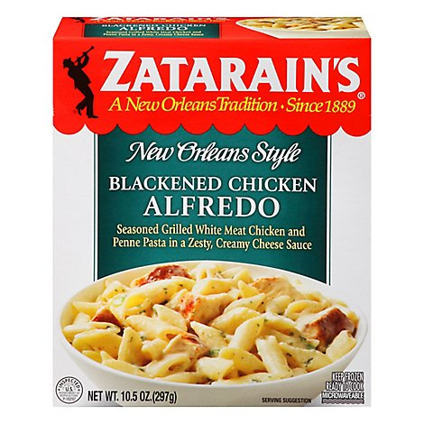 Zatarains New Orleans Style Blackened Chicken Alfredo - 10.5 Oz