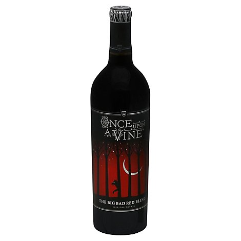 Once Upon A Vine Red Blend Wine - 750 Ml