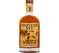 Templeton Rye Whiskey Aged 4 Years 91.5 Proof - 750 Ml