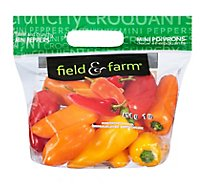 Peppers Bell Peppers Mini Assorted Mix Pack With Red Yellow And Orange - 16 Oz