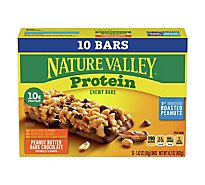 Nature Valley Protein Bars Chewy Peanut Butter Dark Chocolate - 10-1.42 Oz