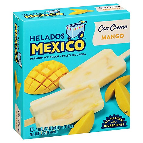 Helados Mexico Premium Mango Ice Cream - 18 Fl. Oz.