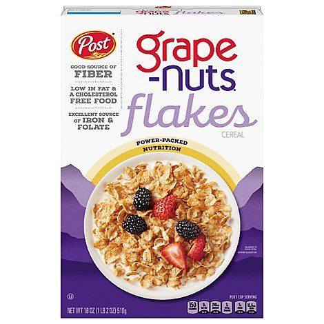 Grape Nuts Cereal Flakes - 18 Oz