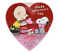 Whitmans Chocolates Charlie Brown Happy Valentine Day Assorted - 6.25 Oz