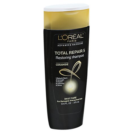LOreal Paris Advanced Haircare Shampoo Total Repair 5 Ceramide - 12.6 Fl. Oz.