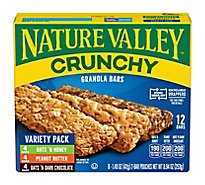 Nature Valley Granola Bars Crunchy Variety Pack - 6-1.49 Oz