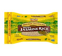Golden Star Rice Jasmine Brown - 28 Oz