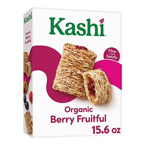 Kashi Organic Promise Cereal Berry Fruitful - 15.6 Oz