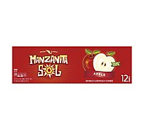 Manzanita Sol Soda Apple - 12-12 Fl. Oz.
