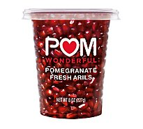 POM POMS Pomegranate Arils Fresh Ready To Eat Prepacked Family Size - 8 Oz