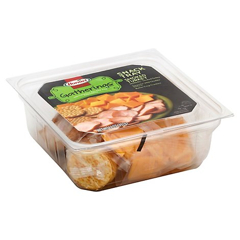 Hormel Snack Tray Turkey & Cheese - 14.7 Oz