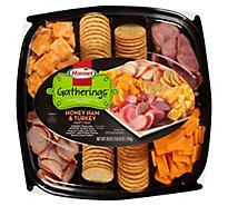 Hormel Gatherings Deli Tray Honey Ham & Turkey - 28 Oz