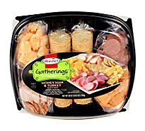 Hormel Gatherings Deli Tray Hard Salami & Pepperoni - 28 Oz