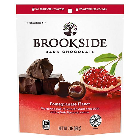 Brookside Dark Chocolate Pomegranate and Fruit Flavors - 7 Oz