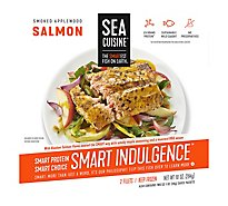 Sea Cuisine Fire Salmon Alaskan Roasted Applewood - 10 Oz