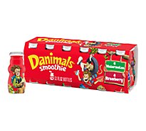 Danimals Smoothie Strawberry Explosion & Wild Watermelon - 12-3.1 Fl. Oz.