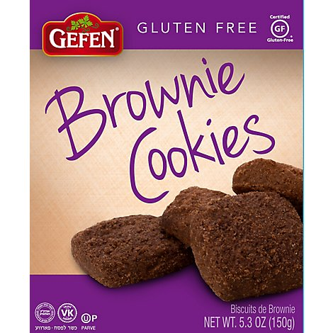 Gefen Brownie Cookies Gluten Free - 5.3 Oz