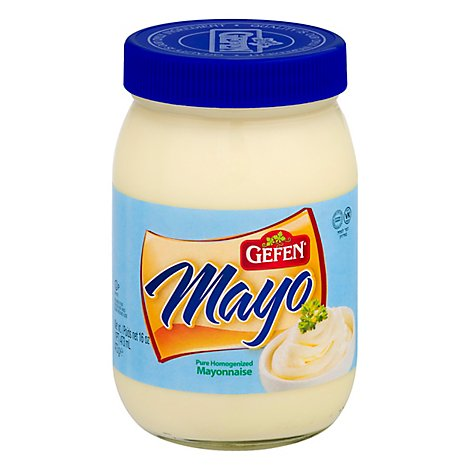 Gefen Mayonnaise Pure Homogenized - 16 Fl. Oz.