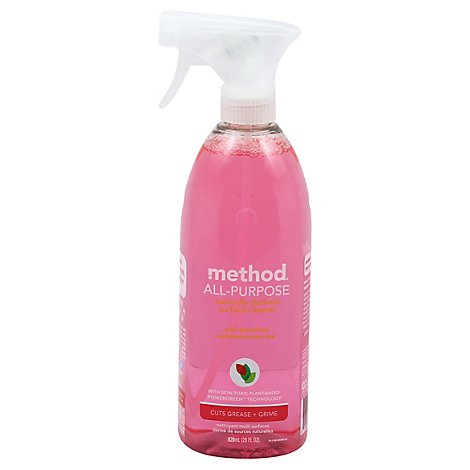 Method Surface Cleaner All-Purpose Pink Grapefruit - 28 Fl. Oz.
