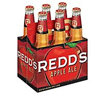 REDDS Hard Apple Ale Beer 5% ABV In Bottles - 6-12 Fl. Oz.
