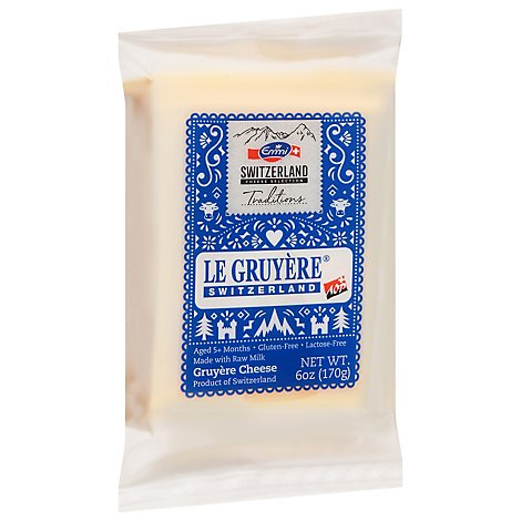 Emmi Cheese Gruyere Mild - 6 Oz