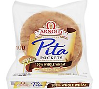 Arnold Pocket Thins Flatbread Healthy Whole Wheat 8 Count - 11.75 Oz.