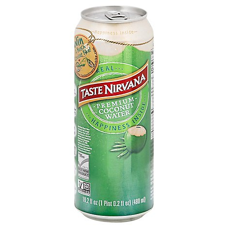 Taste Nirvana Coconut Water - 16.2 Fl. Oz.