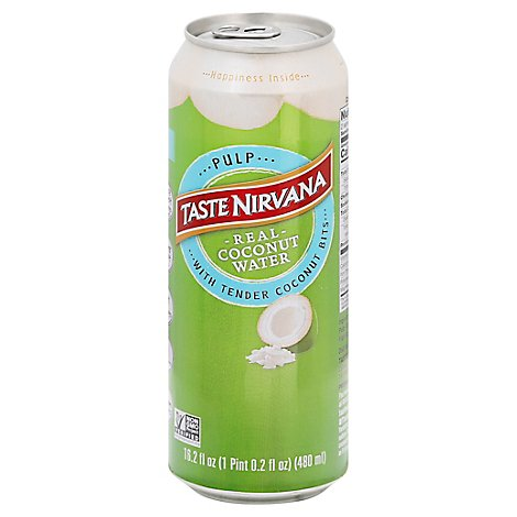 Taste Nirvana Coconut Water with Pulp - 16.2 Fl. Oz.