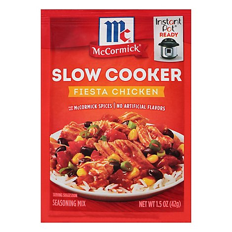 McCormick Slow Cookers Seasoning Mix Fiesta Chicken - 1.5 Oz