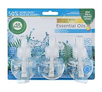 Air Wick Scented Oil Refill Fresh Waters - 3-0.67 Fl. Oz.