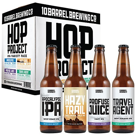 Barrel Hop Project Variety 10 Bottles - 12-12 Fl. Oz.
