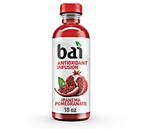 bai Antioxidant Infusion Beverage Ipanema Pomegranate - 18 Fl. Oz.