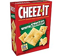 Cheez-It Baked Snack Cheese Crackers White Cheddar - 12.4 Oz