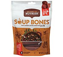 Rachael Ray Nutrish Chews for Dogs Beef & Barley Recipe Pouch 3 Count - 6.3 Oz