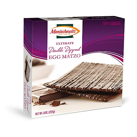 Manischewitz Matzo Egg Ultimate Double Dipped - 8 Oz