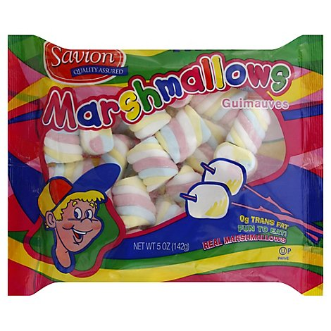 Savion Marshmallows Twister - 5 Oz