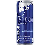 Red Bull Energy Drink The Blue Edition Blueberry - 8.4 Fl. Oz.